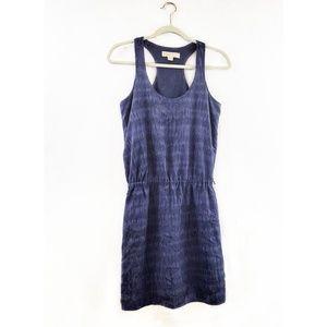 Michael Kors Racerback Tie Dye Silk Dress Size S